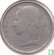 België 1 franc 1952 (NLD)