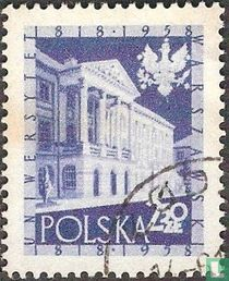 Universiteit Warschau, 1818-1958