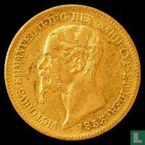Sardinië 20 lires 1853 (P)