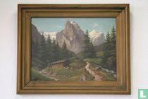 Bernese Oberland Mountain Landscape