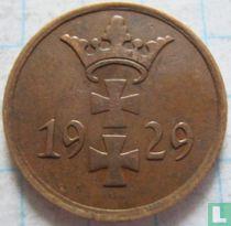 Danzig 1 pfennig 1929