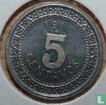Mexico 5 centavos 1911