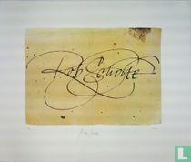 Yours Sincerely, a.p., digitale print op papier