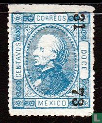 Miguel Hidalgo (opdruk - getand)