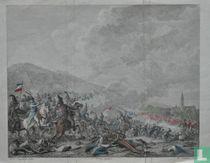 Gevecht by Castricum. Op den 6. October 1799