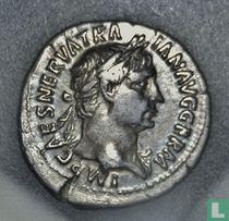 Romeinse Rijk, AR Denarius, 98-117 AD, Trajanus, Rome, 101-102 AD