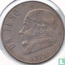 Mexico 1 peso 1978 (gesloten 8)