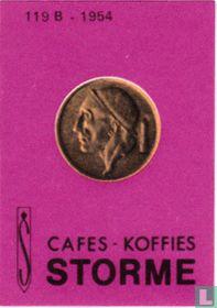 Storme - 50centimes 1954 Nl