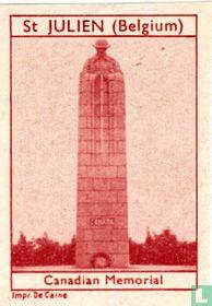 St Julien Canadian Memorial
