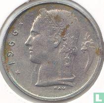 België 1 franc 1966 (NLD)