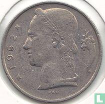 België 5 francs 1962 (NLD - muntslag)