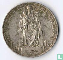 Vaticaan 10 lire 1937