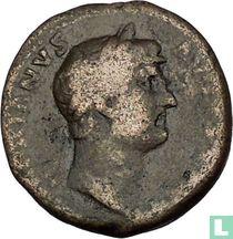 Romeinse Rijk-keizer Hadrianus drukproef 117-138 CE