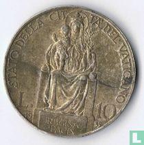 Vaticaan 10 lire 1935