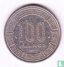 Cameroon 100 francs 1980