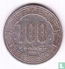 Cameroon 100 francs 1984