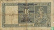 Servië 10 Dinara