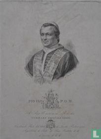 Pio IX P.O.M. A sue Eminenza Rev.ma Tommaso Pasquale Gizzi (...) L'incisore D.D.D.