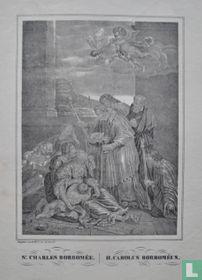 St. CHARLES BORROMÉE. // H. CAROLUS BORROMÉUS.
