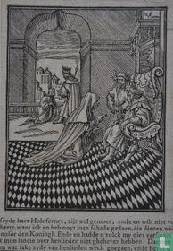 Een vrouw vraagt raad bij de koning