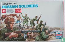 WWII Russische Soldaten