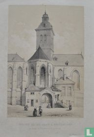 Église Saint Jean a Bruxelles. Veu prise de l'interiuer de l'hospital