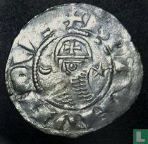 Byzantijnse Rijk, AR Denier, 1163-1188 AD, Bohemond III of later, Antiochie