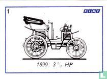 Fiat 3 1/2 HP - 1899