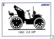 Fiat 6/8 HP - 1900