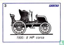 Fiat 8 HP corsa - 1900