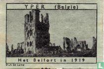 Yper - Het Belfort in 1919