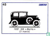 "Fiat 508  - ""Balilla"" (3 marce) -1932"