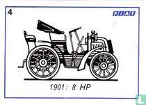 Fiat 8 HP - 1901