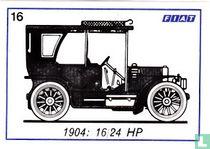 Fiat 16/24 HP - 1904