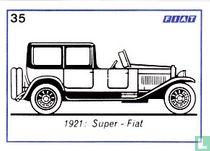 Fiat Super - Fiat  - 1921