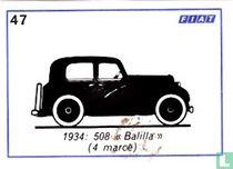 """Fiat 508 """"Balilla Sport"""" (4 marce) -1934"""