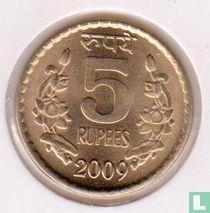 India 5 rupees 2009 (Calcutta)