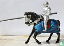 Knight mounted with spear