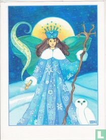 Fairy in the snow