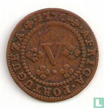 Angola 5 reis 1770