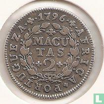 Angola 2 macutas 1796