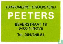 Parfumerie - drogisterij Peeters