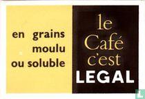 le Café c'est Legal