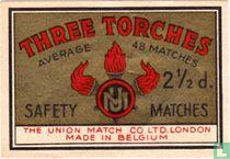 Three Torches 2 1/2 d