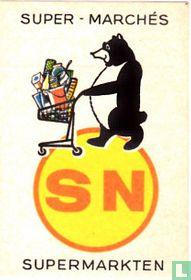 SN super-marchés - supermarkten