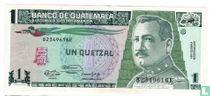 Guatemala 1 Quetzal 1991
