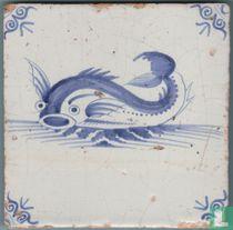 Tegel 17e eeuw Zeewezen, Oud Hollands