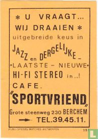 "Cafe ""Sportvriend"""