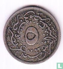Ägypten 5/10 Piaster 1894 (Jahr 1293-20)
