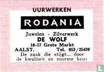 Uurwerken Rodania - De Wolf